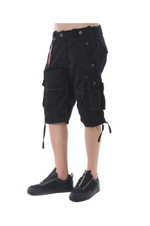 Alpha Industries cargo shorts in cotton ALPHA INDUSTRIES | 30 | 18121003