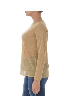 Base Milano sweater in linen and lurex blend yarn BASE MILANO | 7 | B5261909-993