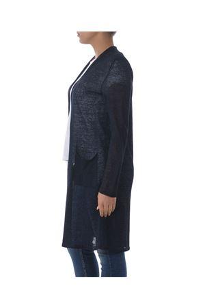 Base Milano long cardigan in linen and lurex blend yarn BASE MILANO | 850887746 | B5270909-852