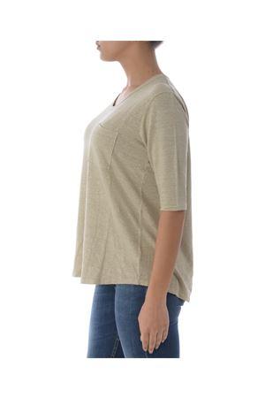 Base Milano t-shirt in stretch linen BASE MILANO | 7 | B5310475-632