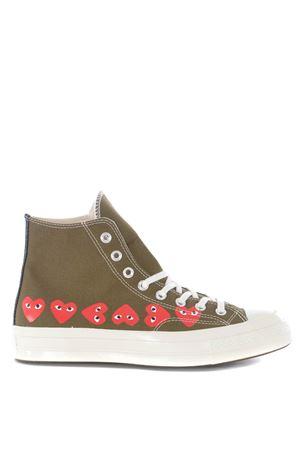 Sneakers hi-top Comme des Garçons Play by Converse COMME des GARCONS PLAY | 5032245 | P1K116KHAKI