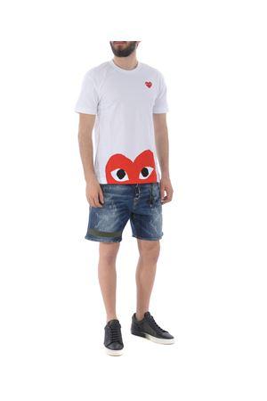 T-shirt Comme des Garçons Play COMME des GARCONS PLAY | 8 | P1T034WHITE