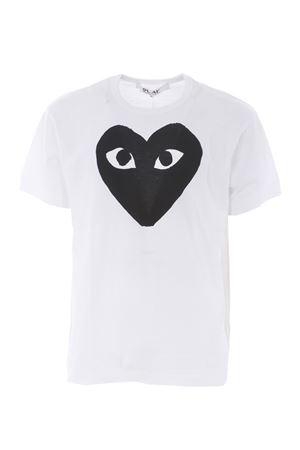 T-shirt Comme des Garçons Play COMME des GARCONS PLAY | 8 | P1T070WHITE