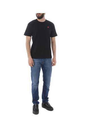 T-shirt Comme des Garçons Play COMME des GARCONS PLAY | 8 | P1T200BLACK