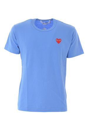 T-shirt Comme des Garçons Play COMME des GARCONS PLAY | 8 | P1T212BLUE