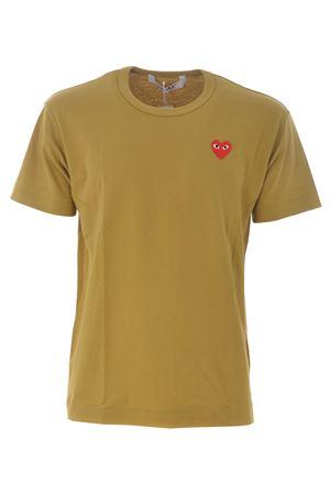 T-shirt Comme des Garçons Play COMME des GARCONS PLAY | 8 | P1T212OLIVE
