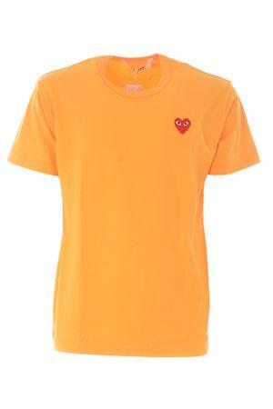 T-shirt Comme des Garçons Play COMME des GARCONS PLAY | 8 | P1T212YELLOW