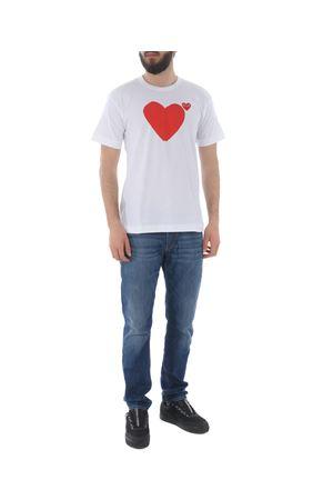 T-shirt Comme des Garcons play COMME des GARCONS PLAY | 8 | P1T222WHITE