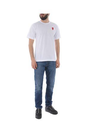 T-shirt Comme des Garcons play COMME des GARCONS PLAY | 8 | P1T230WHITE