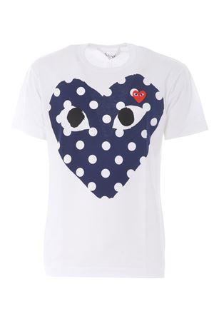 T-shirt Comme des Garçons Play COMME des GARCONS PLAY | 8 | P1T234WHITE