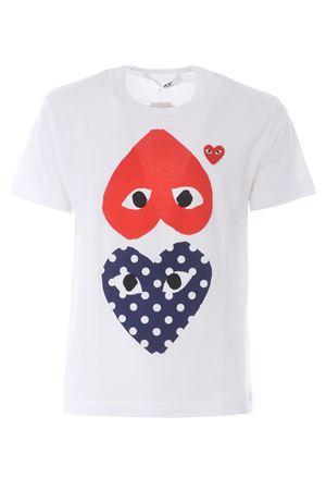T-shirt Comme des Garçons Play COMME des GARCONS PLAY | 8 | P1T240WHITE