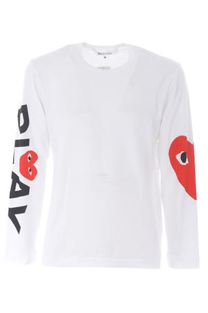 T-shirt Comme des Garçons Play COMME des GARCONS PLAY | 8 | P1T258WHITE
