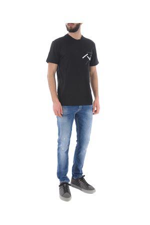 T-shirt D.A. Daniele Alessandrini D.A. DANIELE ALESSANDRINI   8   M6924E643-1