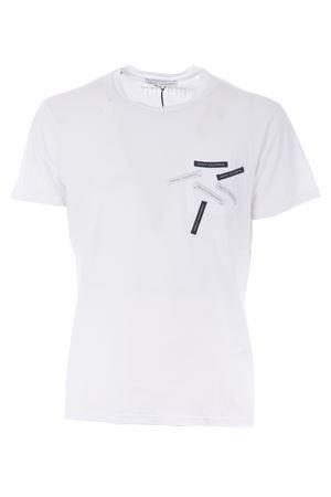T-shirt D.A. Daniele Alessandrini D.A. DANIELE ALESSANDRINI   8   M6924E643-2