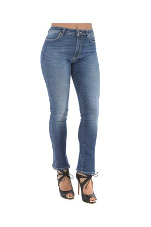 Dondup Ollie jeans in stone wash stretch denim.  DONDUP | 24 | DP426DS0232V26-800