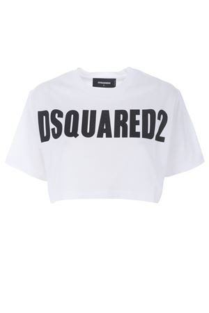 T-shirt cropped Dsquared2 DSQUARED | 8 | S72GD0149S22427-100