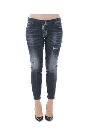 Jeans Dsquared2 runway straight cropped jean DSQUARED | 24 | S72LB0172S30357-900