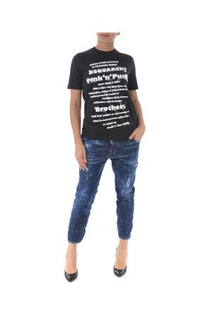 Jeans Dsquared2 cool girl cropped jean DSQUARED | 24 | S72LB0180S30342-470