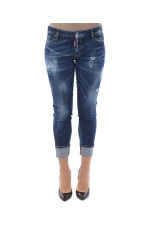 Jeans Dsquared2 super skinny cropped jean DSQUARED | 24 | S72LB0189S30342-470