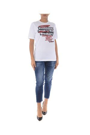 T-shirt Dsquared2 DSQUARED | 8 | S75GC0985S22844-100