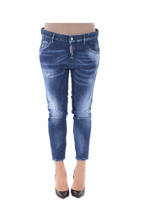 Jeans Dsquared2 cool girl cropped jean DSQUARED | 24 | S75LB0118S30342-470