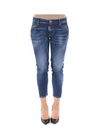Jeans Dsquared2 medium waist cropped twiggy jean DSQUARED | 24 | S75LB0146S30595-470