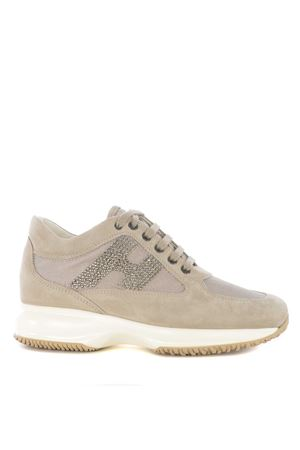 Sneakers donna Hogan Interactive H strass HOGAN | 5032245 | HXW00N02011FI70KL4