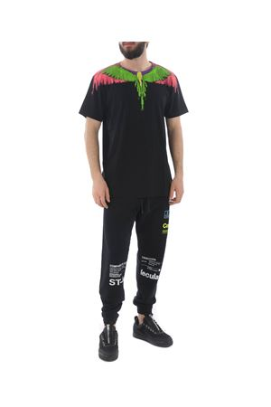 T-shirt Marcelo Burlon County of Milan fluo glitch wings MARCELO BURLON | 8 | CMAA018S190010251088