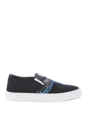 Sneakers slip on Marcelo Burlon county of Milan blue wings MARCELO BURLON | 5032245 | CMIA015S198571411088
