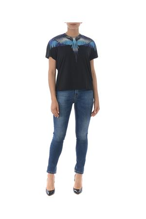 T-shirt Marcelo Burlon County of Milan blue wings MARCELO BURLON | 8 | CWAA030S190470211088