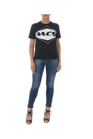 T-shirt MCQ Alexander McQueen band MCQ | 8 | 473705RMH28-1000