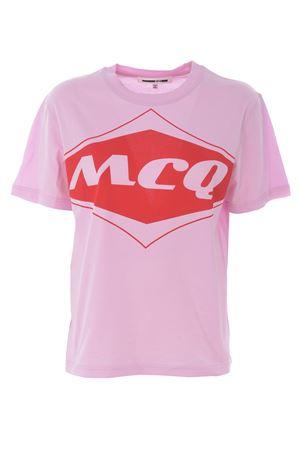 T-shirt MCQ Alexander McQueen band MCQ | 8 | 473705RMH28-5555