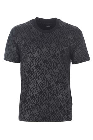 T-shirt Love Moschino in cotone stretch MOSCHINO LOVE | 8 | M473100E2013-0017