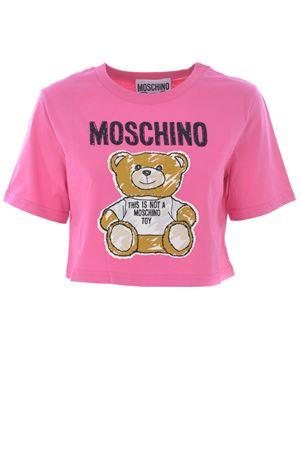 T-shirt cropped Moschino MOSCHINO | 8 | V0707440-6209