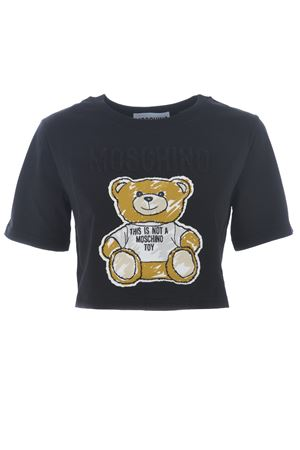 T-shirt cropped Moschino MOSCHINO | 8 | V0707440-6555