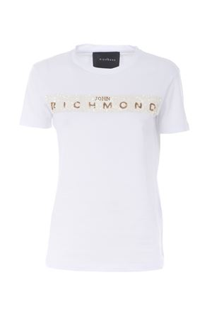 T-shirt John Richmond RICHMOND | 8 | RWP19299TSL4WHITE-BLACK