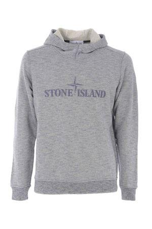 Felpa Stone Island in cotone STONE ISLAND | 10000005 | 65438V0028