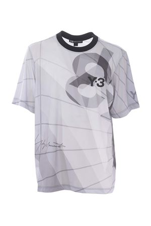 T-shirt Y-3 aop football Y-3 | 8 | DY7221PARACHUTE CORE