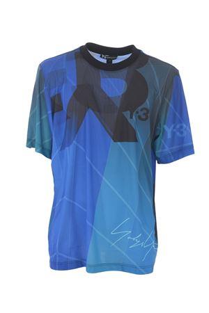 T-shirt Y-3 aop football Y-3 | 8 | EC9349SAIL PETROL GREEN