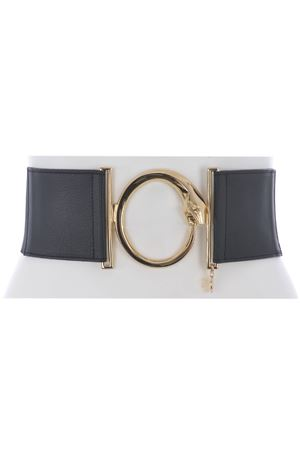 Class Roberto Cavalli belt in black elastic fabric.  CLASS R CAVALLI | 22 | IPBF13A954-899