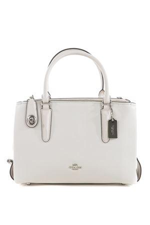 Borsa 3 scomparti Coach N.Y. Brooklyn in pelle COACH NY | 31 | 56839SV-CHALK