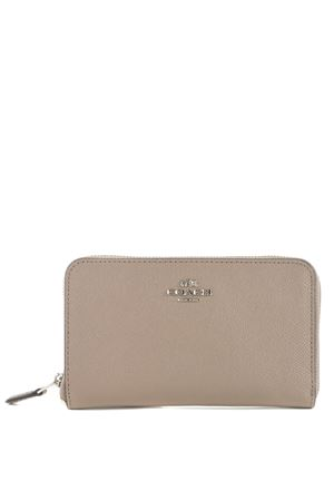 Coach N.Y. wallet in leather COACH NY | 63 | 57726SV-STONE
