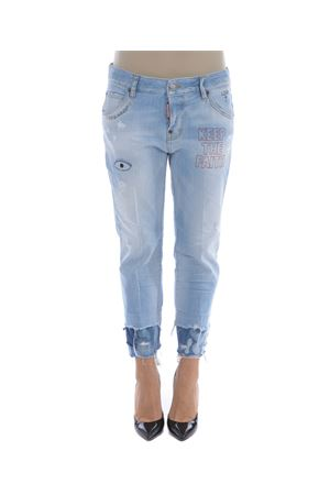 Jeans Dsquared2 cool girl cropped DSQUARED | 24 | S72LA0935S30342-470