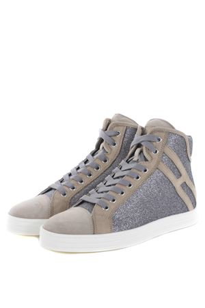 Sneakers hi-top donna Hogan Rebel HOGAN REBEL | 12 | HXW1820I650GAQ384W