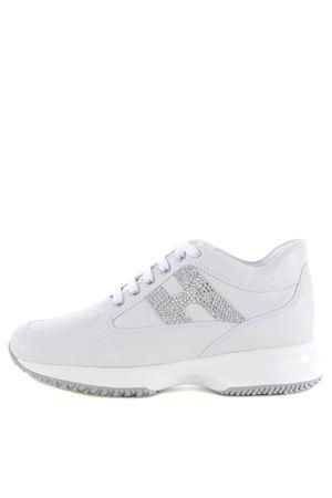 Sneakers donna Hogan Interactive H strass HOGAN | 12 | HXW00N02011FNWB001
