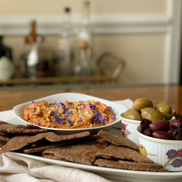 Muhammara is a summer staple in our house.