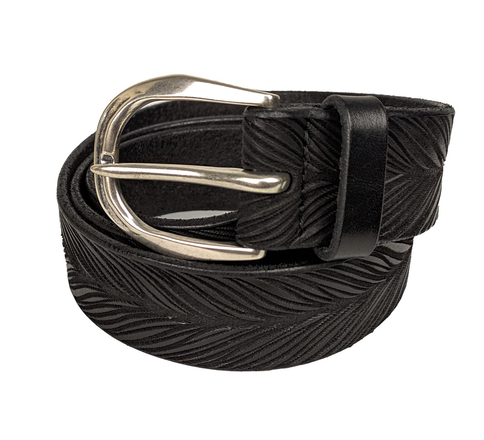 Orciani belts men stain black ORCIANI   U078611