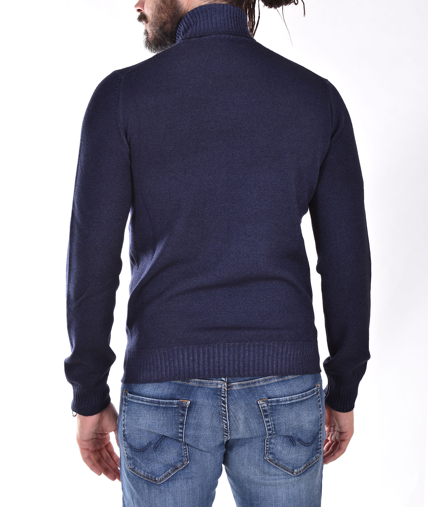 Gran Sasso Vintage blue turtleneck GRAN SASSO   2319731712905