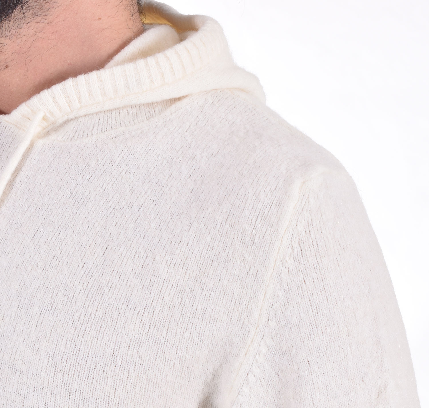 Officina 36 white hooded sweatshirt OFFICINA 36   CULM11301