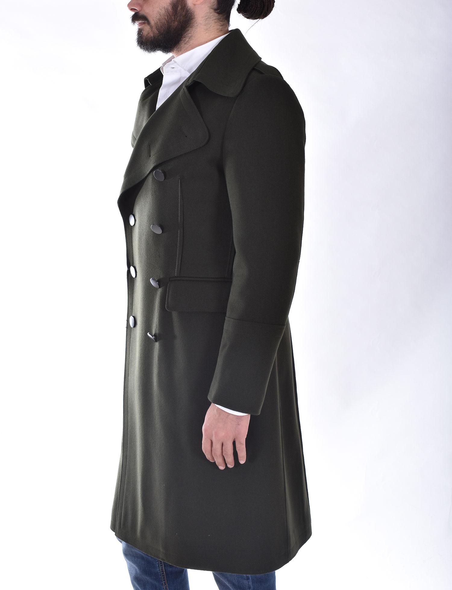 Cappotto Tagliatore lungo doppiopetto verde C Avatar TAGLIATORE   C-AVATARV1248